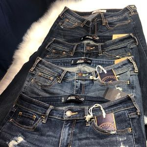 HOLLISTER LOT Jeans 3 Super Skinny 1 California